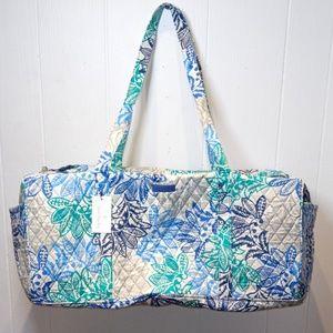 Vera Bradley Large Traveler Duffel Bag -Santiago